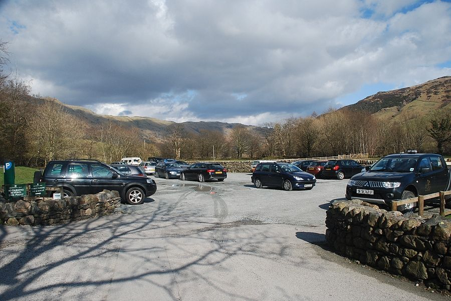 National Trust Car Park Old Dungeon Ghyll
